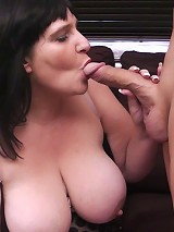 Fat ass slut picked up for sex